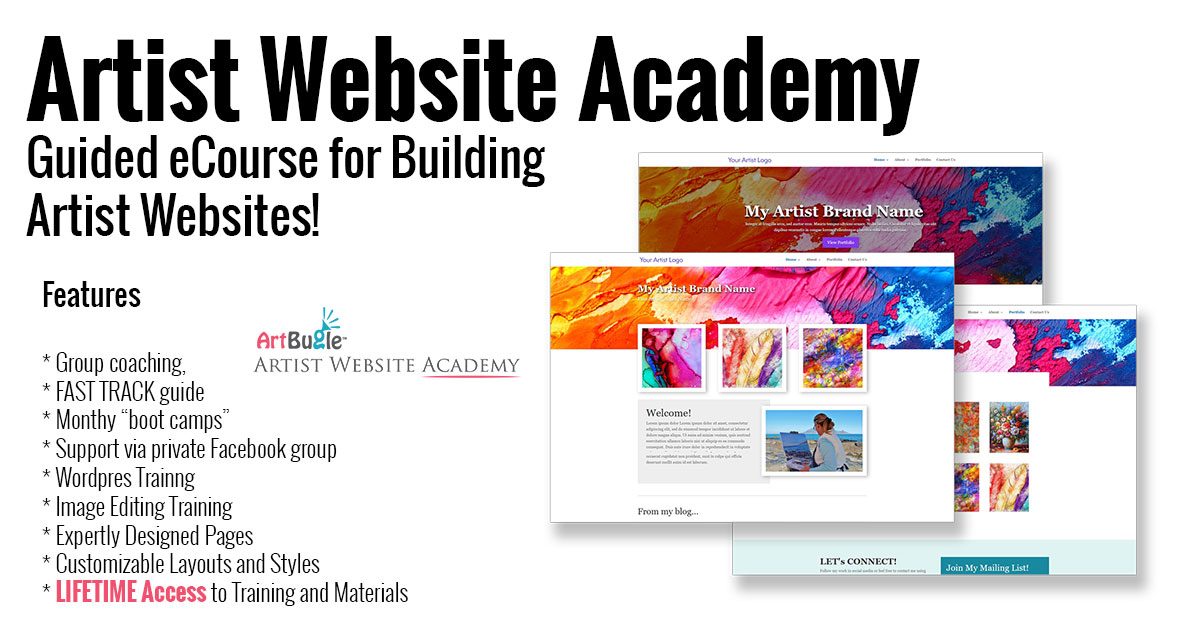 Artist Website Academy
