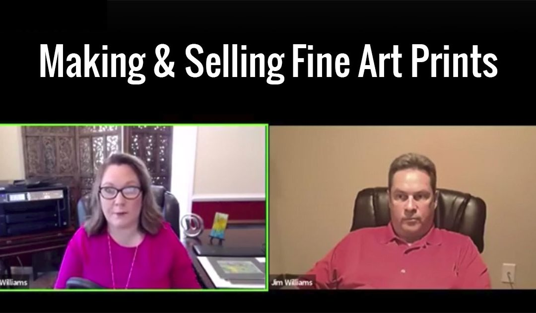 Making and Selling Prints of Your Artwork