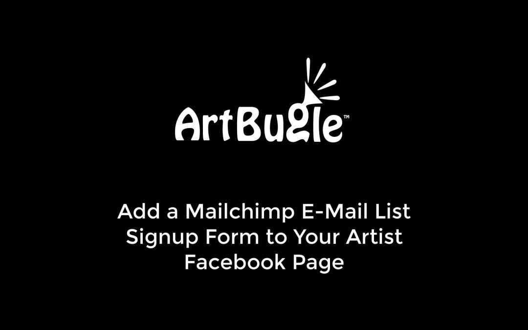 How to Add an Email Sign Up Form to a Facebook Page